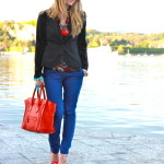 Outfit: Red and Blue