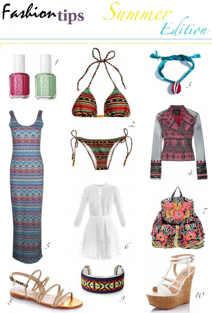 Tribal beachwear