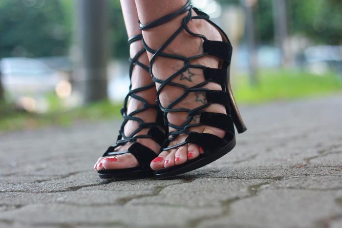 YSL vintage shoes