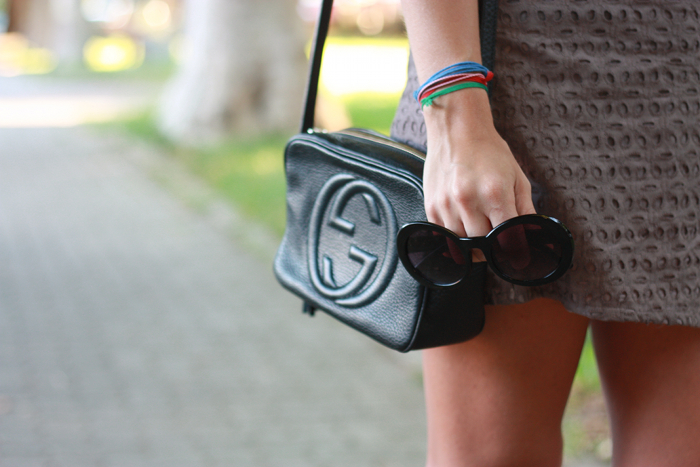 gucci disco bag outfit