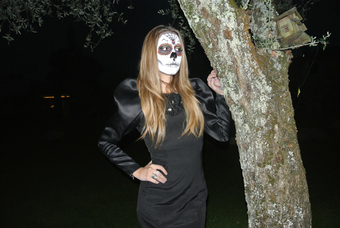 santa muerte make up halloween