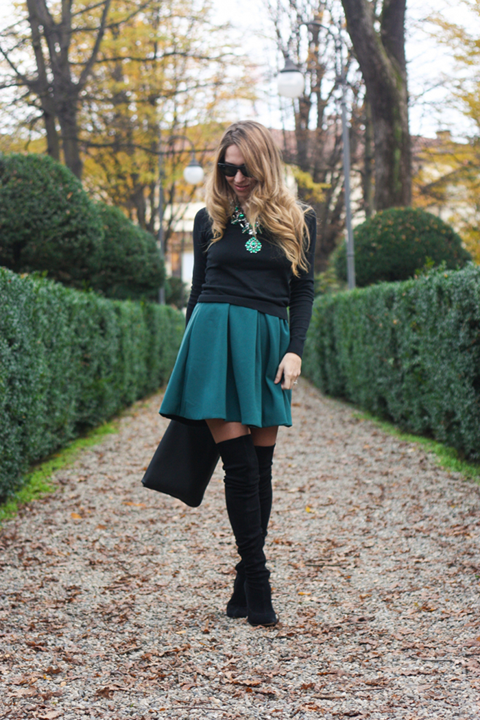 Iceberg overtheknee boots outfit