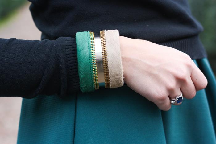maineli bracciale outfit blogger