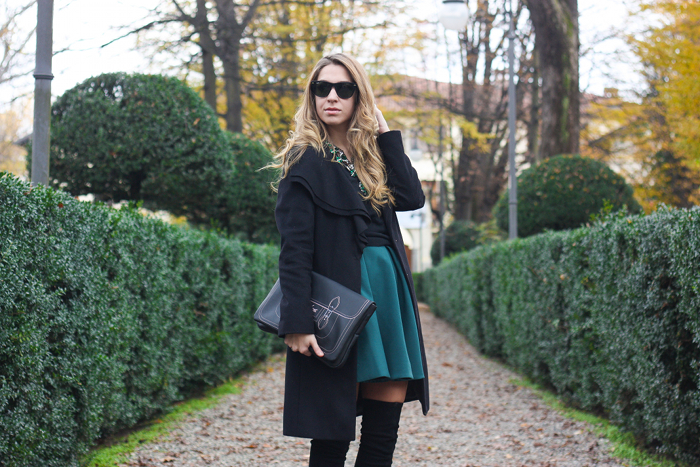 Green And Black For Autumn Barbielaura