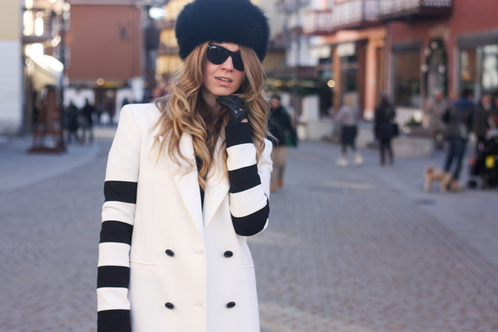 iceberg black and white coat