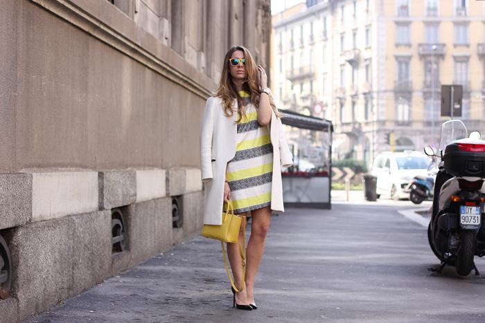 mfw street style yellow