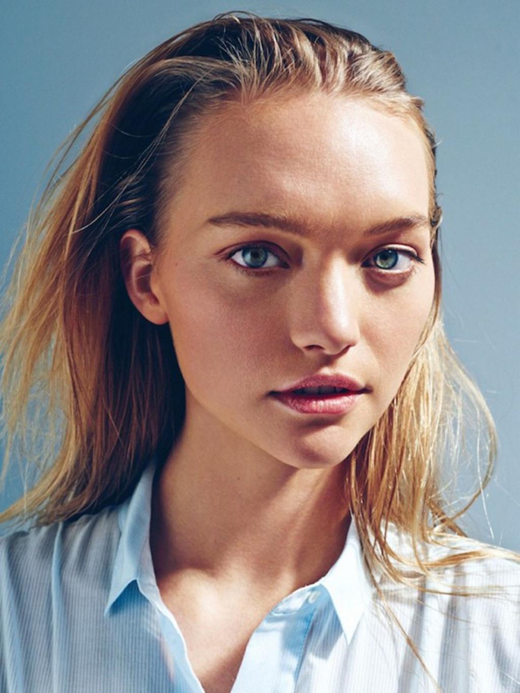 Gemma Ward for Sunday Style Australia photographed by Beau Grealy, blue eyes, babe, model