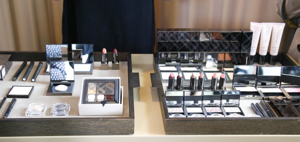 Burberry SS16 makeup event in London