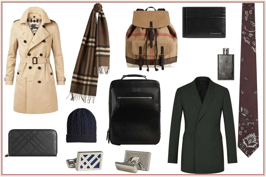 Burberry gifts for man