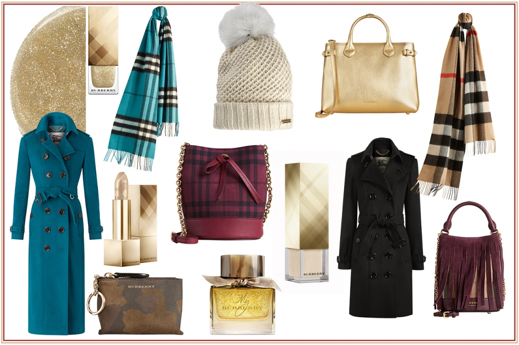 Burberry gifts woman