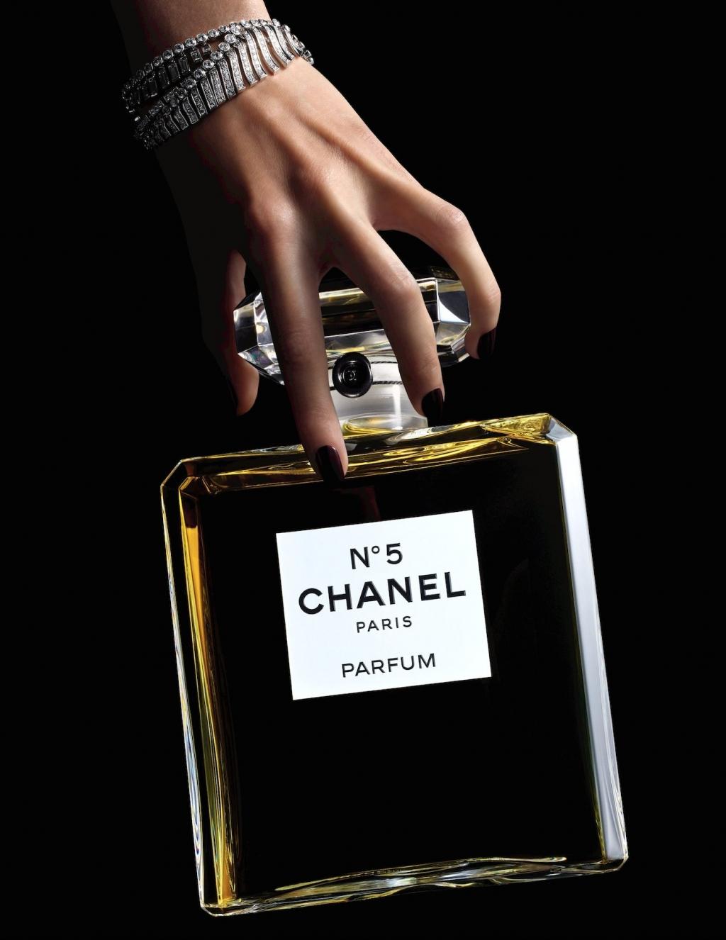 Chanel n5 e i nuovi formati per le feste