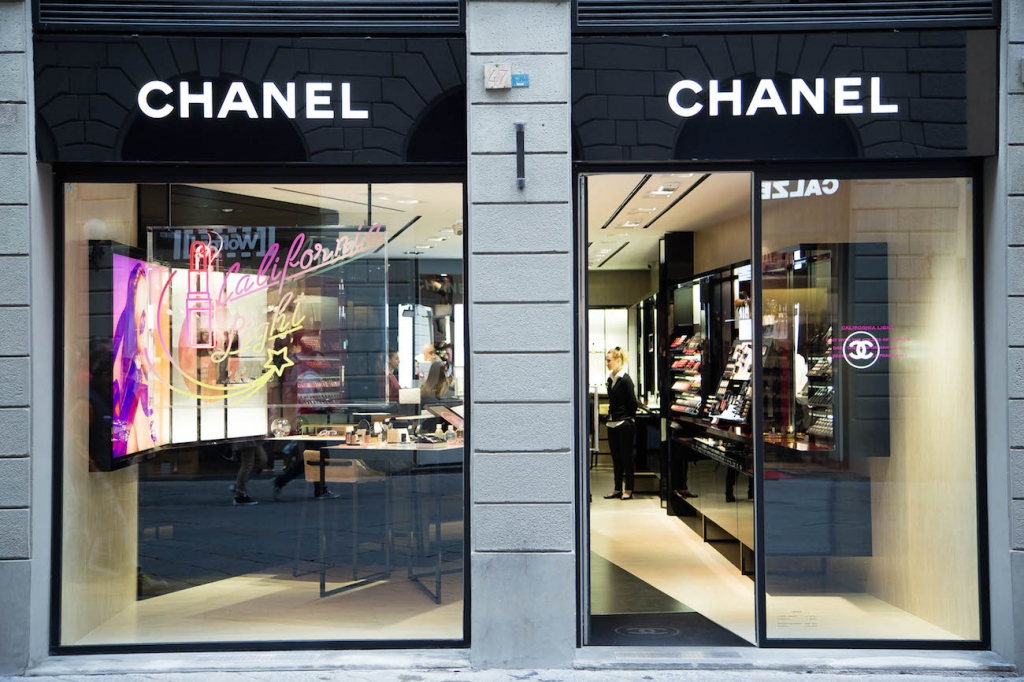 Chanel Fragrance and beauty boutique firenze
