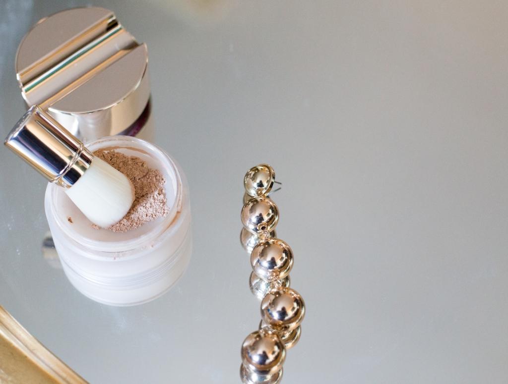 CLARINS fondotinta in polvere minerale Skin Illusion